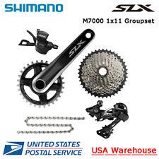 Shimano SLX M7000 1x11 Speed Groupset 32/34 Cassette 42T/46T With Brake Set