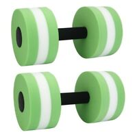 Foam Dumbbells Water Aerobic Exercise Hand Bars Pool Resistance Exercises E D8S6