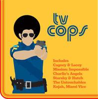 TV Cops CD Starsky, Kojak, Taggart, Magnum etc Police show themes GIFT IDEA