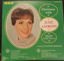 Christmas with Julie Andrews LP Special Collectors Edition RCA  1996 Vintage