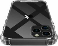 Hülle für Apple iPhone 12 11 X S SE 8 7 6S Pro Schutz Silikon Case Transparent ✅