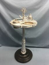 Vintage NAUTICAL Smoking Stand Cigar Ashtray RARE