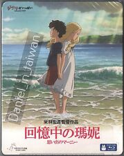 Studio Ghibli When Marnie was there (2014) TAIWAN BLU RAY SLIPCOVER ENGLISH SUBS