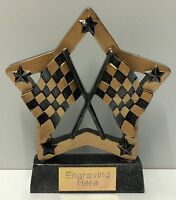 Karting and Motor Trophy + FREE Engraving +  FREE P&P On Additional Trophies