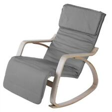 Balcony Adjustable Rocking Chair Minimalist Modern Living Room Furniture Relax