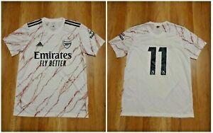 ARSENAL 2020/2021 AWAY ADULT Size M Adidas shirt jersey  #11 maillot soccer