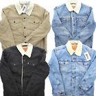Levi's Men's Sherpa Fleece Lined Trucker Jacket Denim Jean Corduroy S L XXL