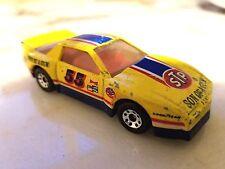 MATCHBOX FIREBIRD TRANS AM RACER #55 STP Son Of A Gun Yellow and Blue Used