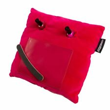 Coz-E Pink Velvet Nailbar Manicure Cushion Nail Varnish Painting Holder Laptray