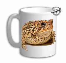 Personalised Toad Mug cup frog mug cup. Customise with your own text.FOC. IL5922