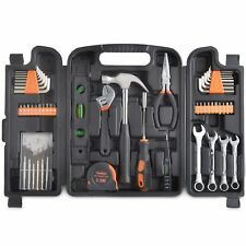 VonHaus 53pc Household Tool Set/Kit For DIY - includes Precision Screwdrivers