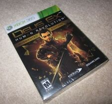 Deus Ex Human Revolution Augmented Edition, Xbox 360/One/X collector limited NEW