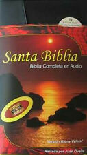 Complete Holy Bible on CD Santa Biblia Reina Valera 2000 + FREE DVD Ovalle