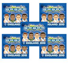 5 x Crazy Bones Gogos England 2010 Series 5 New Sealed Pack Free Postage