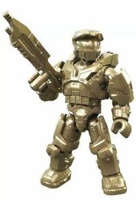 MEGA Construx Halo 10th Anniversary Master Chief Gold BLOKS SEALED BAG BLIND HCE