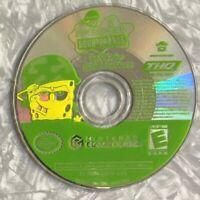 Spongebob Squarepants Battle Bikini Bottom Nintendo Gamecube TESTED *Disc Only*