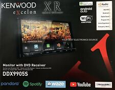 "NEW Kenwood DDX9905S, 6.75"" CD DVD Car Stereo CarPlay, Android Auto, Bluetooth"