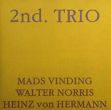 CD MADS VINDING / WALTER NORRIS / HEINZ von HERMANN - 2nd. trio