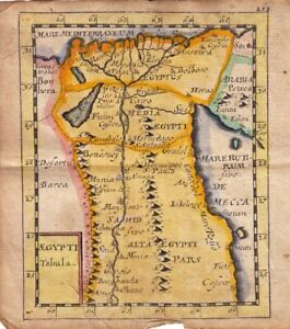 1681  Duval/Hoffman Map of Egypt