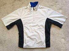 EUC FootJoy DryJoys Waterproof 1/2 Zip Golf Pullover Rain Shirt Jacket MSRP $170
