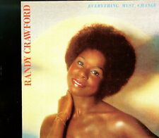 Randy Crawford / Everything Must Change - No Bar Code - Made In Japan