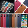 Original Silicone Leather Cover OEM Case for Apple iPhone XS Max XR X 6 7 8 Plus