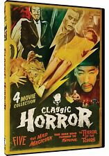 NEW DVD: Classic Horror - 4 Movie Collection / Five / The Made Magician + 2 more
