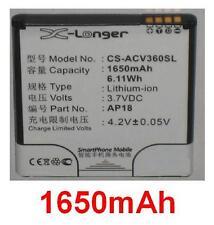 Batería 1650mAh Para ACER Liquid E1, Liquid E1 Dou, V360 tipo AP18
