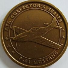 Air Force Association P-51 Mustang Challenge Coin Token Collectors Series