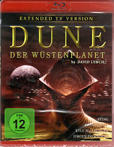 Dune ,  Blu-Ray , 100% uncut - extended TV Edition , new and sealed, David Lynch