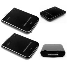 2 2800MAH EXTERNAL BLACK BATTERY POWER CHARGER 30-PIN IPHONE 4S 4 3GS IPOD TOUCH