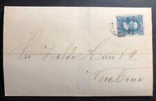 1876 Tlacotalpan Veracruz Mexico Letter Sheet cover
