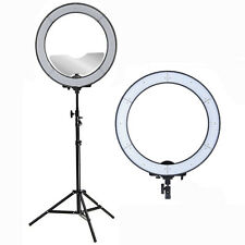 "New Diva 19"" LED Ring Light 5500K Dimmable w/- Makeup Mirror Studio Selfie Light"