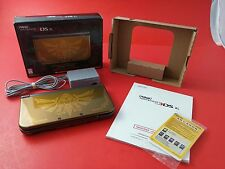 NEW 3DS XL Hyrule Edition System Console [CIB Complete in Box] Tested & Working
