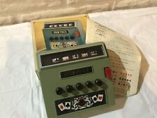 Vintage Draw Poker game with box waco 1971 Japan