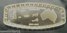 #DD7. 1934 - 1935  ENGLAND TO MELBOURNE CENTENARY AIR RACE GLASS DISH