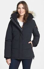 $795 Outdoor Survival Canada 'Nukka' Goose Down Parka Coat Jacket Coyote Fur L