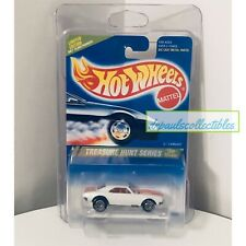 "Hot Wheels '67 Camaro White 1995 Treasure Hunt ""Grail Car"" Brand New W/Protector"