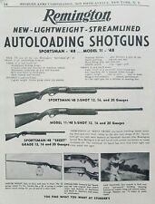 Remington Vintage Hunting Advertisements for sale | eBay