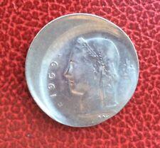 Belgique - Très Rare et Spectaculaire 1 franc 1969  VL fautée - Casquette