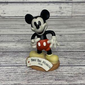 "Tokyo Disneyland Mickey Mouse 3.5"" Thru The Mirror 1936 Figurine - Disney"