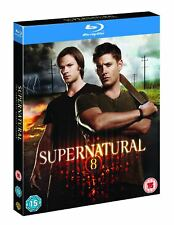 Supernatural - Season 8 Complete [Region Free] (Blu-ray)