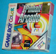 Microsoft Pinball Arcade - Game Boy Color GB Nintendo - PAL