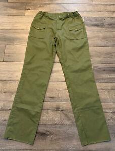 Olive Boy Scout uniform cargo pants