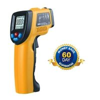 Industrial / Oven Temperature Gun IR Thermometer + Laser Dot & LCD (NOT Medical)