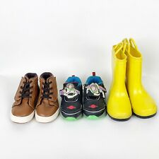 Lot of Toddler Baby Boy Shoes Rain Boots Size 7