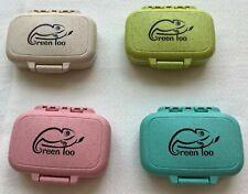 Pill Box, 100% Organic, BPA Free, air tight seal