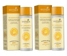 Biotique Bio Sandalwood 50+ SPF Sunscreen Ultra Soothing Face Lotion for All Ski