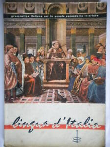 Lingua d'Italia Petrini Enzo 1962 grammatica sintassi linguistica fonologia 06
