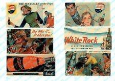 JL Innovative 326 N 1930-60's Vintage Soft Drink Billboard Signs (6)